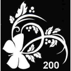 szablon TATTOO 200
