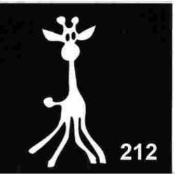 szablon TATTOO 212