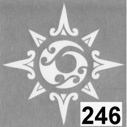 szablon TATTOO 246