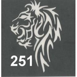 szablon TATTOO 251